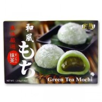 Japanese Style Mochi Rice Cake Green Tea 210g