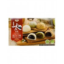 Japanese Style Mochi Rice Cake Assorted Red Bean, Sesame & Green Tea Flavours 450g
