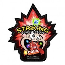 Striking Popping Candy Cola