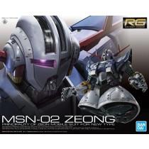 RG MSN-02 ZEONG 1/144 - GUNPLA