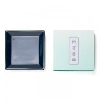 Shoyeido - Square Ceramic Incense Tray - Dark Blue