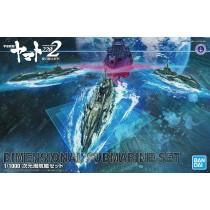 SPACE BATTLESHIP YAMATO 2202 - DIMENSIONAL SUBMARINE SET 1/1000 - PLASTIC MODEL KIT