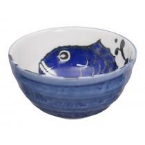 Seafood Bowl 13.2x6.8cm 500ml Snapper Blue
