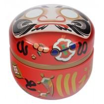 Tea Container Daruma Red
