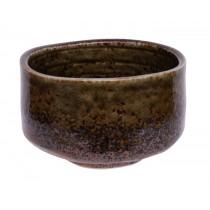 Matcha Bowl Green / Brown 12 x 7.5cm 500ml