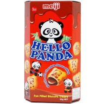 Meiji - Hello Panda Chocolate Flavoured Biscuit