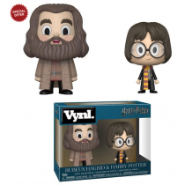 Harry Potter Vynl Figure Rubeus Hagrid & Harry Potter