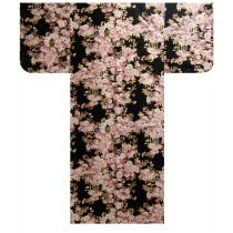 Ladies Yukata - Sakura - Black
