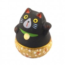 Maneki Neko - Lucky Cat Yura Yura Black Calico