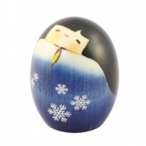 Kokeshi Doll - Happy Yukinosei