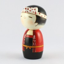 Kokeshi Doll - Wasshoi (Girl)