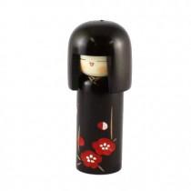 Kokeshi Doll - Plum Heart