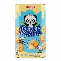 Meiji - Hello Panda Milk Flavoured Biscuit