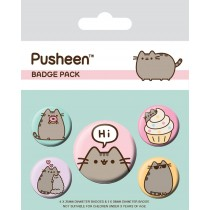 Pusheen - Badge Pack - Pusheen Says Hi