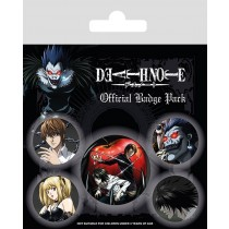Badge Pack - Death Note - Characters