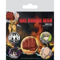 One-Punch Man - Destructive - Badge Pack