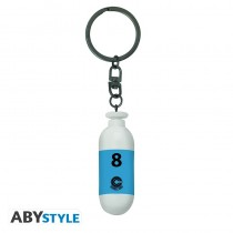 "DRAGON BALL - Keychain 3D ""DBZ/Blue Plastic Capsule"""