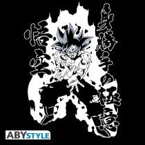 "T-SHIRT DRAGON BALL SUPER - ""Ultra Instinct Goku Kamehameha"" Large"