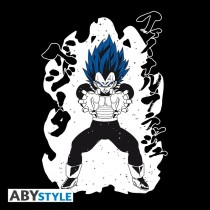 "T-SHIRT DRAGON BALL SUPER - ""Royal Blue Vegeta"" Medium"