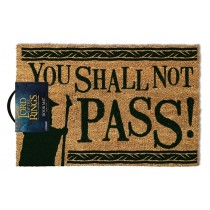 The Lord Of The Rings - Doormat - You Shall Not Pass