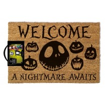 The Nightmare Before Christmas - Doormat - A Nightmare Awaits