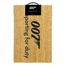 James Bond - Doormat - 007 Reporting for Duty