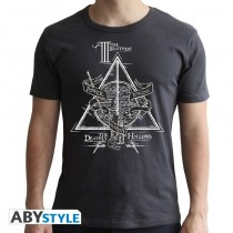 T-SHIRT Harry Potter Deathly Hallows Medium