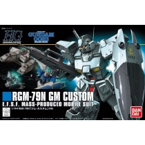 HGUC RGM-79 GM CUSTOM 1/144 - GUNPLA