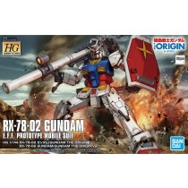 HG RX-78-02 GUNDAM (GUNDAM THE ORIGIN Ver.) 1/144 - GUNPLA