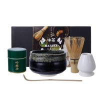 Matcha Green Tea Starter Giftset Yuzu Black