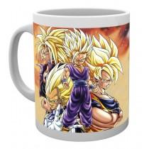 Dragon Ball Z - Mug 300 ml - Super Saiyans
