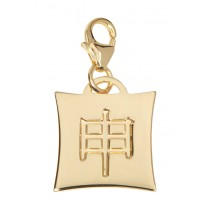 Japanese Star Sign Charm - Monkey - 18KT Gold Plated