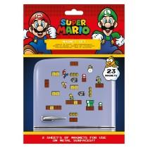 Nintendo - Super Mario (Mushroom Kingdom Magnet Set