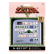 The Legend of Zelda (Retro) Magnet Set