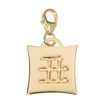 Japanese Star Sign Charm - Ox - 18KT Gold Plated