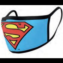 Superman Face Covering Masks Logo