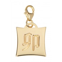 Japanese Star Sign Charm - Rabbit - 18KT Gold Plated