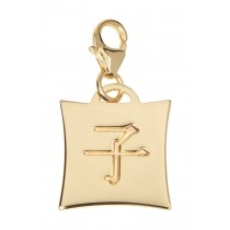 Japanese Star Sign Charm - Rat - 18KT Gold Plated