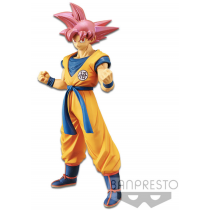 Dragon Ball Super Movie Figure Cyokoku Buyuden Super Saiyan God Son Goku