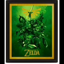 The Legend Of Zelda - Link 3D Lenticular