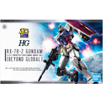 HG RX-78-2 GUNDAM [BEYOND GLOBAL] 1/144 - GUNPLA