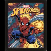 Marvel Spider-Man Costume Blast 3D Lenticular Poster