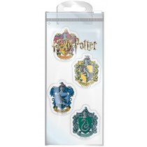 Harry Potter (Houses) Eraser Set