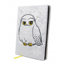 Harry Potter - Premium A5 Notebook (Hedwig) Fluffy
