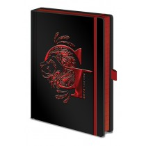 Harry Potter - Premium A5 Notebook Gryffindor Foil