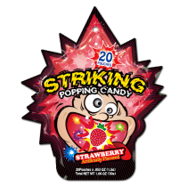 Striking Popping Candy Strawberry