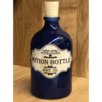 The Potions Cauldron - Blue Potion Bottle with Cork