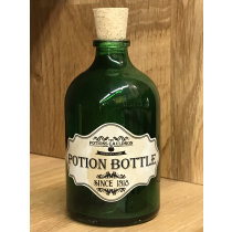 The Potions Cauldron - Green Potion Bottle with Cork
