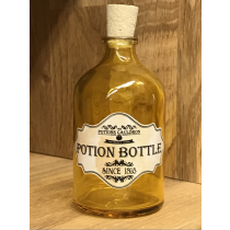 The Potions Cauldron - Yellow Potion Bottle with Cork