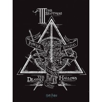 Harry Potter Large Canvas Print Deathly Hallows